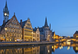 City of Ghent: the river