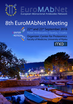 8th EuroMAbNet Meeting, 22nd and 25rd of September 2016, Opatija, Croatia